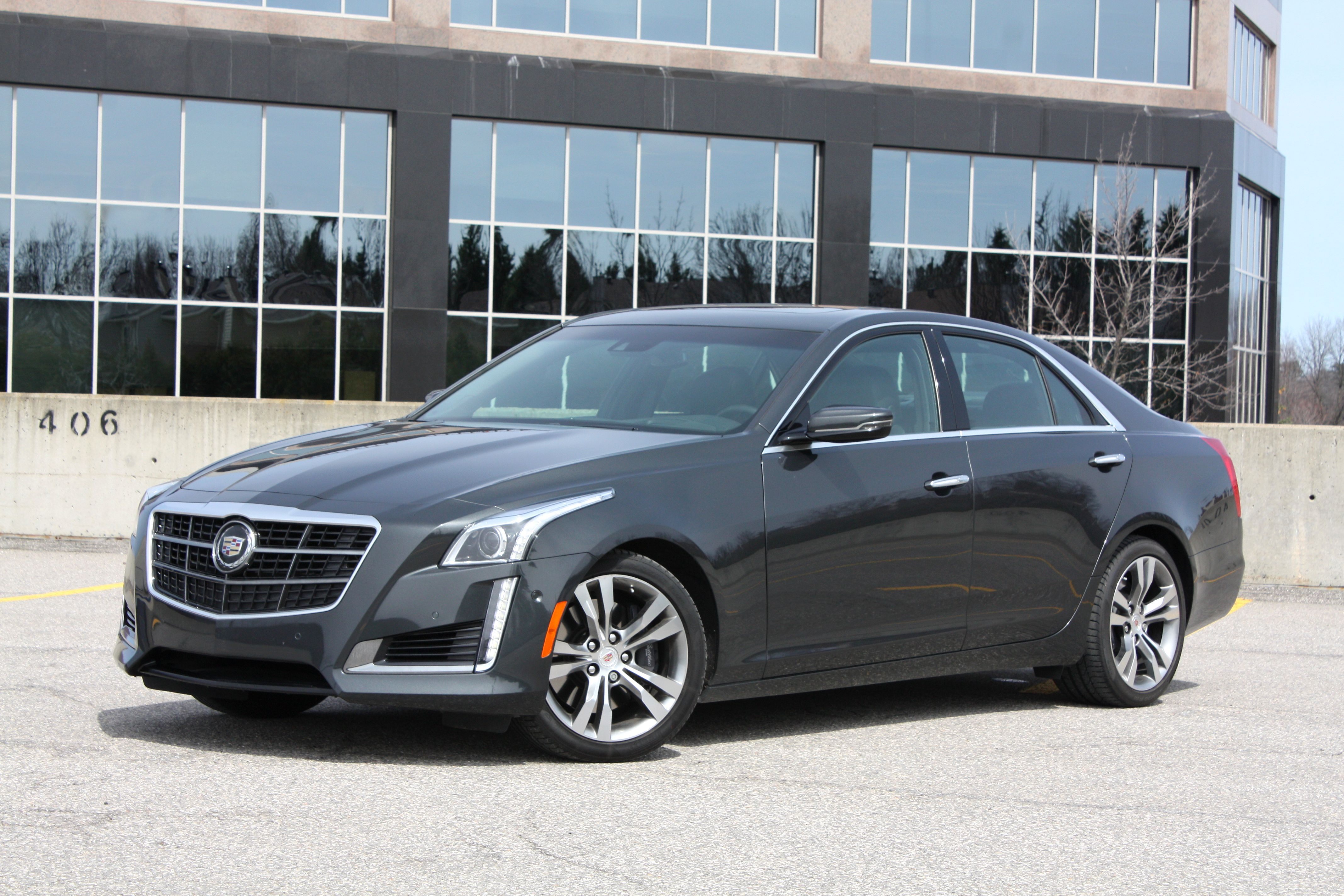 2014 Cadillac Cts V Sport CHASE 001