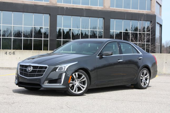 2014 cadillac cts v-sport CHASE 001