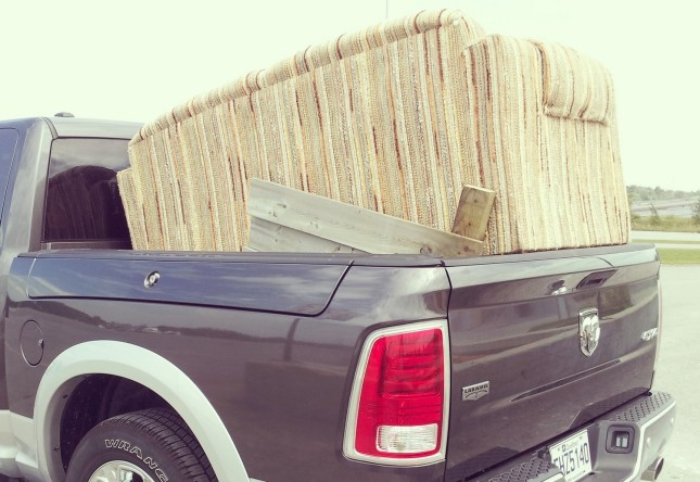 2014 Ram 1500 EcoDiesel cargo bed