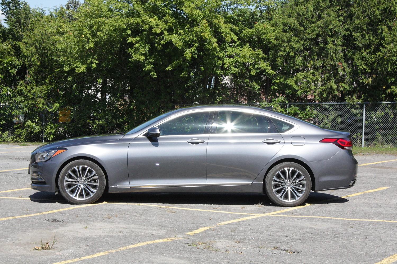 review auto canadian reviews genesis hyundai tech